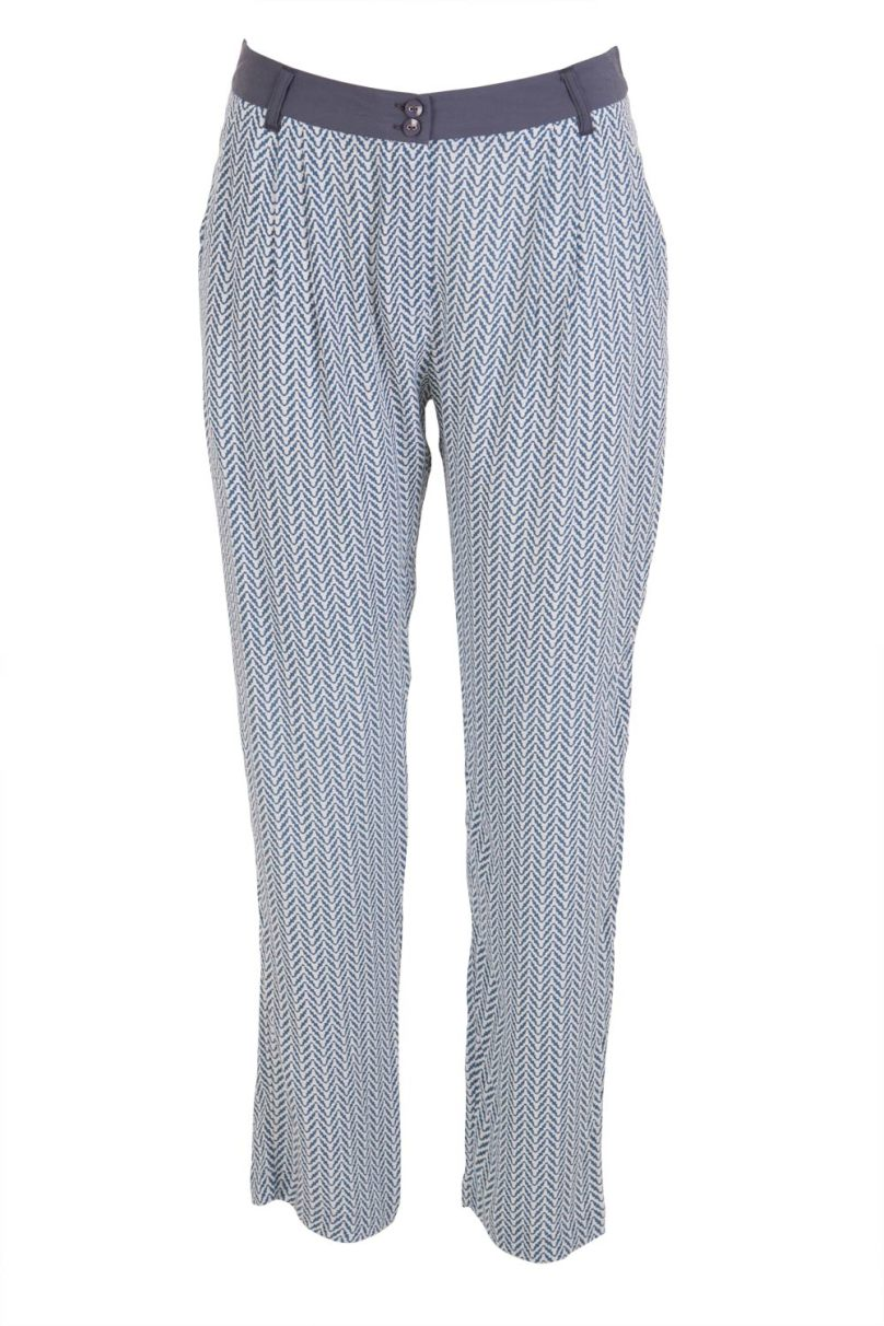 Mesop 'Stroke of Luck' chevron pant