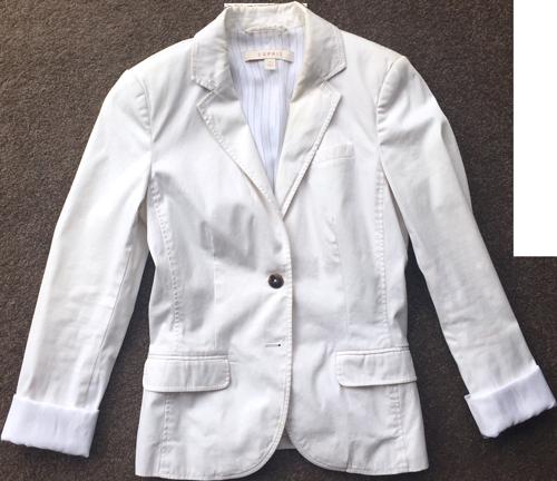 Esprit-white-blazer
