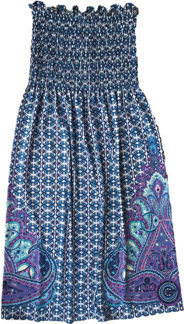 Sleeveless-summer-paisley-dress