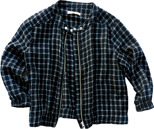 Mesop-check-cotton-jacket
